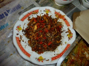 Super hot sambal!!!