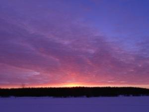 Sunrise over Lake Imagination - The Farm