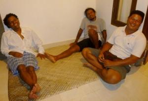 The three brothers Suda left, Sudi center, Belos right